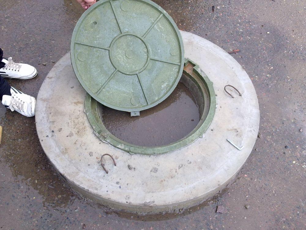 Как сделать бетонную крышку для колодца